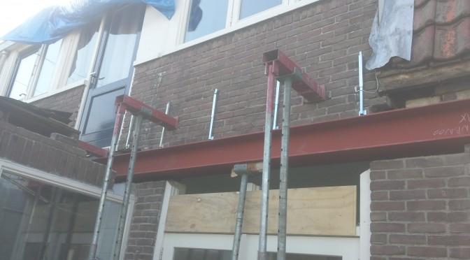 Aanbouw / verbouwing Kwartelstraat Leeuwarden.